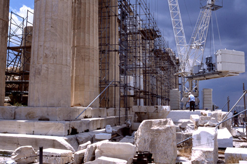 Reconstructing the Parthenon, 2006